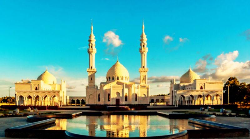 Белый мечеть