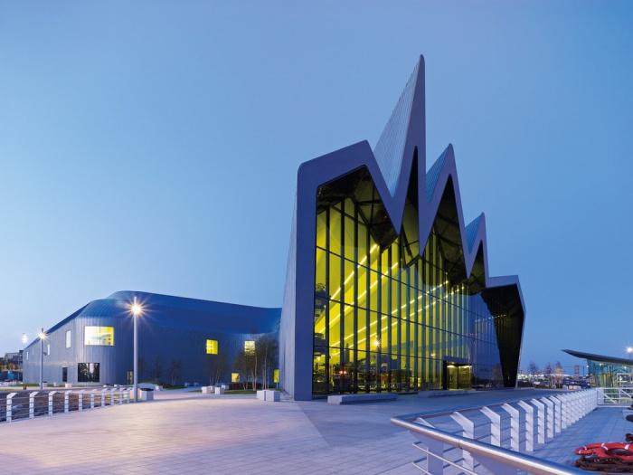 Музей транспорта Риверсайд в Глазго