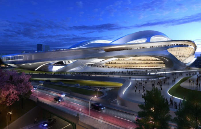 Олимпийский стадион в Токио 2020, Япония