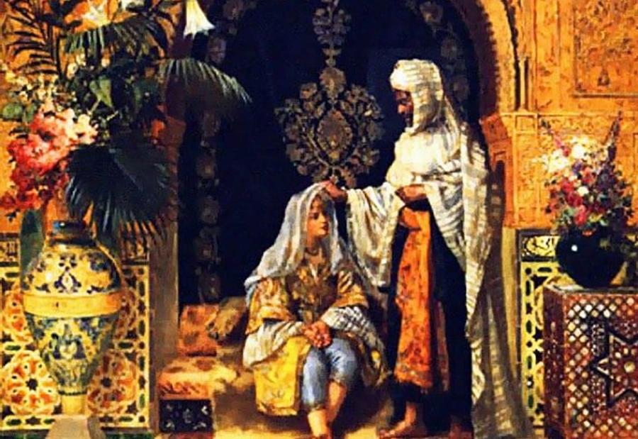 Султан и наложница