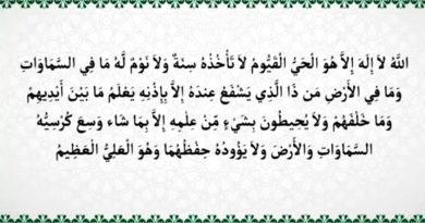 Хадисы о самом величественном аяте Корана
