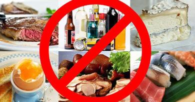 Названы продукты питания, которые сокращают жизнь