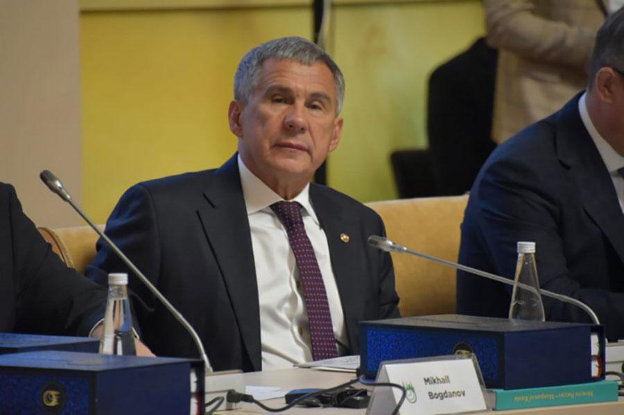Минниханов: сотрудничество России с исламским миром имеет глубокие исторические корни