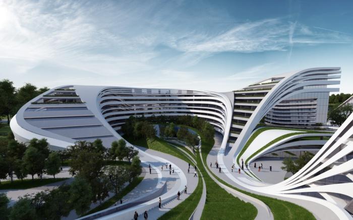 Многоцелевой комплекс Beko Masterplan в Белграде, Сербия