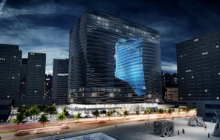 Opus Office Tower в Абу-Даби, ОАЭ