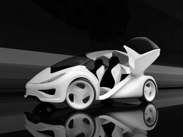 Концепт автомобиля Z.Car