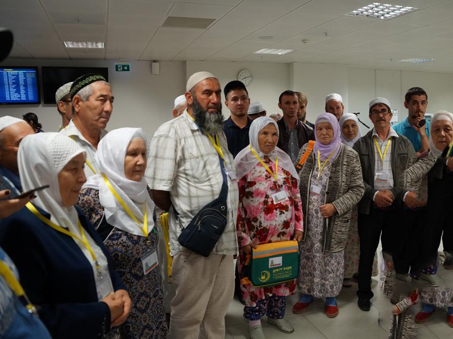 Первая группа паломников из Татарстана отправилась в хадж