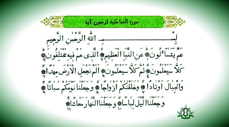 """О чем предупредил нас Аллах в суре """"Ан-Наба"""" (Весть)?"""