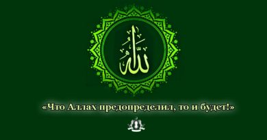 «Что Аллах предопределил, то и будет!»