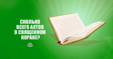 Сколько всего аятов в Священном Коране?